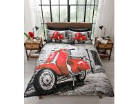 Scooter Duvet Set (Available in Single, Double & King Size)
