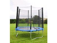 Plum 6ft trampoline and enclosure