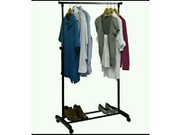 Clothes rail is perfect order