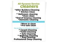 Short notic deep cleaning/ end of tenancy cleaning. Excellent service