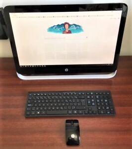 Ordinateur HP Pavilion 23''  tout-en-un tactile à vendre