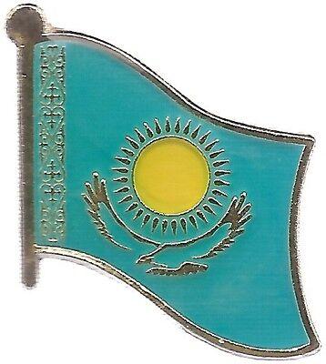 LOT OF 12 Kazakhstan Flag Lapel Pins - Kazakhstan Flag Pin