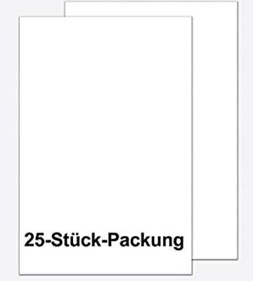 Plakatpapier A1 100g weiß 25 Blatt