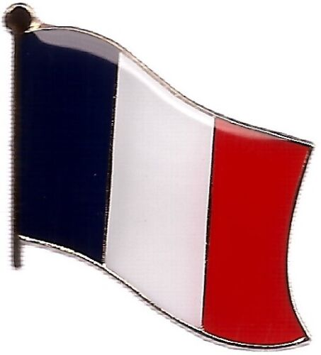 LOT OF 12 France Flag Lapel Pins - France Flag Pin