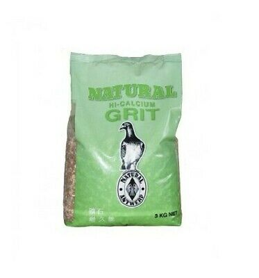 Natural Pigeon Korrel Grit 3KG  High Calcium for Pigeons BMFD DS