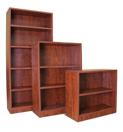 """30"""" Laminate Bookcase with Adjustable Shelves"""