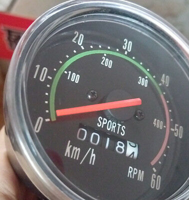 Vintage Bicycle Accessories Speedometer Odometer Nelo