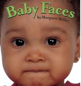 Baby Faces book - new
