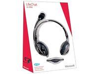 Microsoft Lifechat LX-2000 Skype Compatible Headset