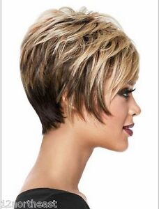 New sexy ladies Short Brown Natural Hair wigs/Free wig cap