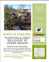 Family-friendly Planting and Nest Box Volunteer Event