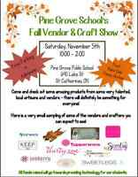 Pine Grove's Craft and Vendor Show!