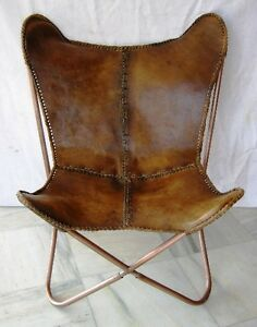 Butterfly Chair Leather Ebay