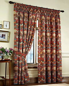 William Morris Ready Made Curtains In 5 Designs Size