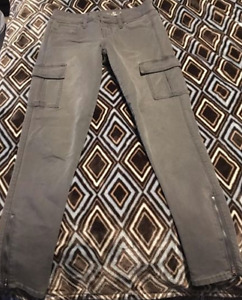 AE cargo jeggings size 2