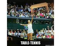 Table Tennis Coaching in Central London, Zone 1