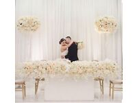 Luxury Wedding Decorations & Event Planning includes Stage, Backdrop, Centrepieces, Chaircover