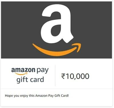 Amazon India Gift Cards (₹10, 000) - Selling As Cant Use Credits, INDIA ONLY