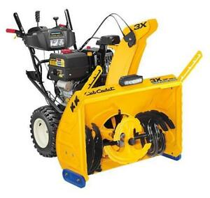 CUB CADET Snowblowers!  0% Financing up to 36 months!!  All set up and ready to go!