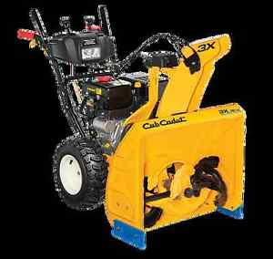 3 X 26HD  THREE  STAGE HEAVY-DUTY SNOW THROWERS  ($200.00 OFF)