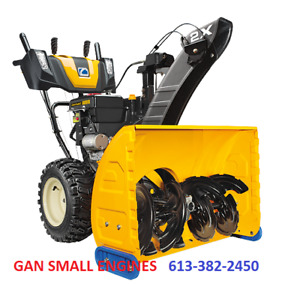 CUB SNOW BLOWERS 0% FINANCING START @ $37 A MONTH