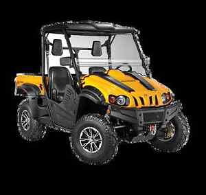 Cub Cadet Challenger 500 4x4 SxS - fully loaded with plow