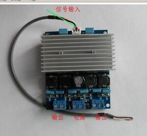 TDA7492 D Class Digital Amplifier Board 50W +50W AMP Board with radiator