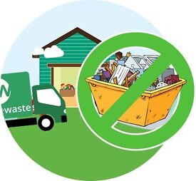 No skip needed, cheap Rubbish removals, garden clearance, house, office, general clearance service,