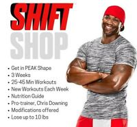 NEW! BEACHBODY PROGRAM – SHIFT SHOP! Contact Me Now!