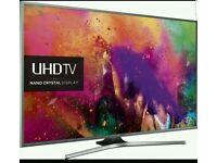 Samsung 55 inch 4k Smart LED ULTRA HD Nano Crystal UE55Ju6800