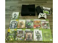 Xbox 360 Slim 4 Gb And 11 Games