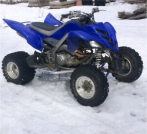 Yamaha raptor 700 wanted in any condition blown up. Seized ect
