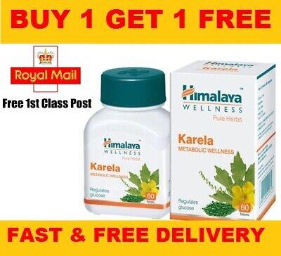 Himalaya Karel Health Control Blood Sugar Regulates Glucose Levels | 60 Tablets