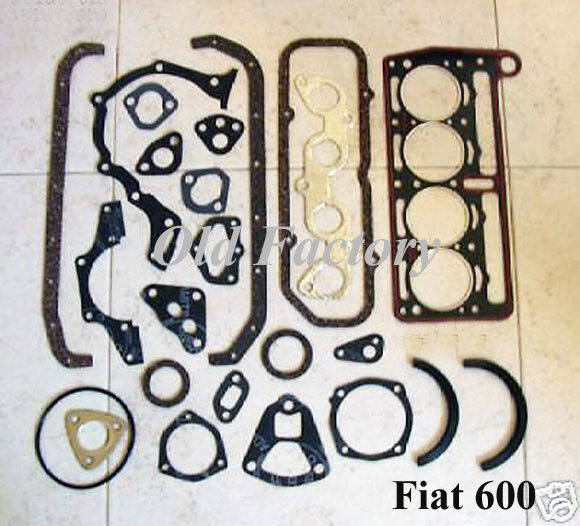* FIAT 600S 133 SEAT 850/903 cc engine gasket set NEW RECENTLY MADE