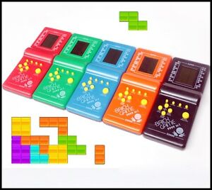 New Tetris Game Hand Held LCD Electronic Game Toys Brick Game
