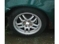 "Enkei K-55 15"" alloy wheels 4x100"