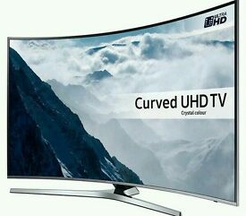 "Samsung TV Curved 49"" Smart UHD LED 2016 Model with box and Two Control"