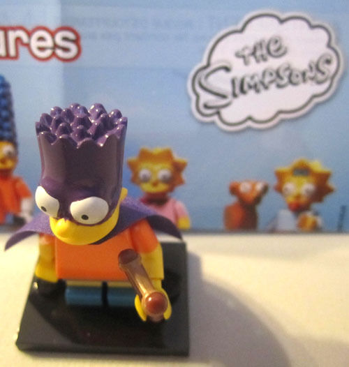LEGO Simpson/'s 2 Homer Mini-Figure Carabiner Keychain