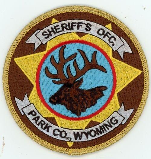 PARK COUNTY SHERIFF WYOMING WY PATCH POLICE NICE ELK