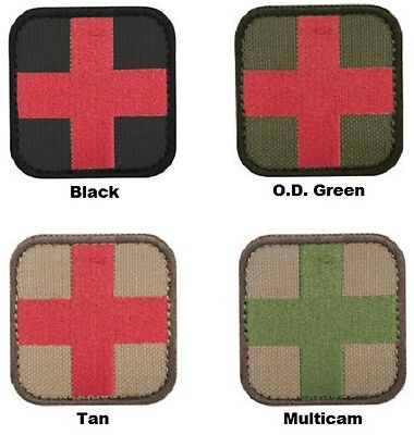 Condor  231 Medic First Aid Cross Patch 2  X 2  Choose Your Color