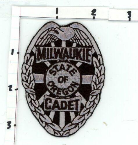 MILWAUKIE POLICE CADET OREGON OR NICE NEW PATCH SHERIFF