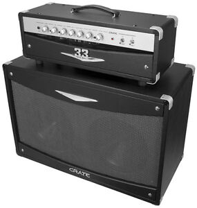 CRATE 33 TUBE AMP w/ 2 CABINETS