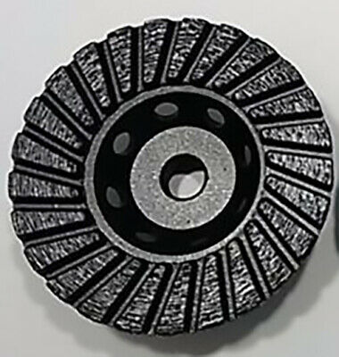 4 Diamond Cup Wheel Turbo 58-11 Thread Coarse Grit Grinding All Natural Stone