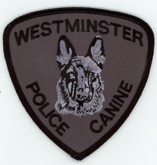 WESTMINSTER COLORADO CO POLICE K-9 SEE BELOW FOR GREAT DEAL