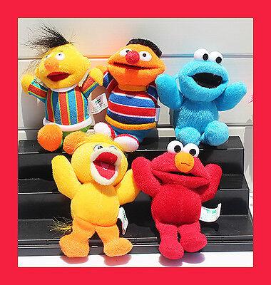 *  5pc Sesame Street Character Toys set - Sesame Street Set