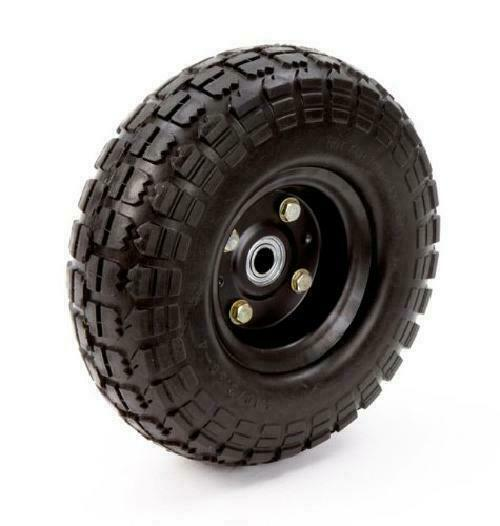 No Flat Tires 1-Pc Replacement Wheel Airless 10 In. Hand Tru