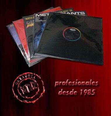 100 FUNDAS EXTERIORES LP AUTOCIERRE ADHESIVO PARA DISCOS DE VINILO LP, MAXI...