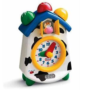 Little Tikes Clock-a-Doodle-Moo Moonica Learning Clock