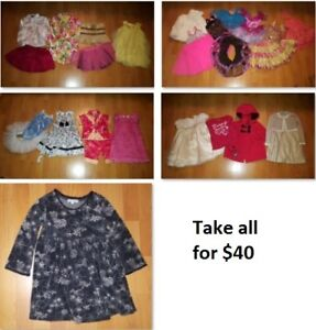 3T Girls Clothing Lot 3 (Take 28 Pieces for $40)