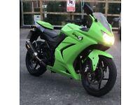 Kawasaki ninja 250cc 12 months mot